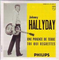 Cover Johnny Hallyday - Avec une poignée de terre