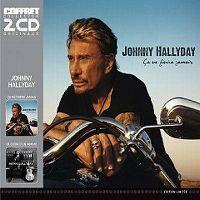 Cover Johnny Hallyday - Ça ne finira jamais / Le cœur d'un homme