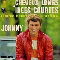 Cover Johnny Hallyday - Cheveux longs et idées courtes