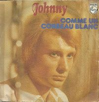Cover Johnny Hallyday - Comme un corbeau blanc