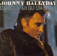 Cover Johnny Hallyday - Dans un an ou un jour