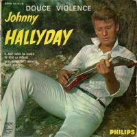 Cover Johnny Hallyday - Douce violence