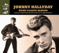 Cover Johnny Hallyday - Eight Classic Albums