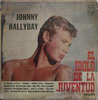 Cover Johnny Hallyday - El idolo de la juventud