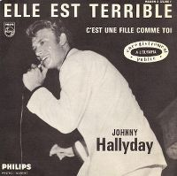 Cover Johnny Hallyday - Elle est terrible