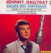 Cover Johnny Hallyday - Excuse-moi partenaire