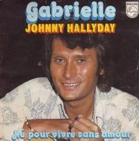 Cover Johnny Hallyday - Gabrielle