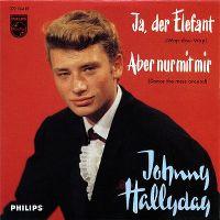 Cover Johnny Hallyday - Ja, der Elefant