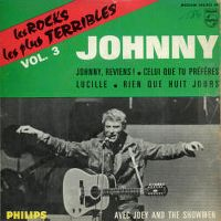 Cover Johnny Hallyday - Johnny, reviens!
