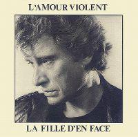 Cover Johnny Hallyday - L'amour violent