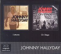 Cover Johnny Hallyday - L'attente / On Stage