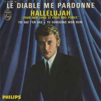 Cover Johnny Hallyday - Le diable me pardonne