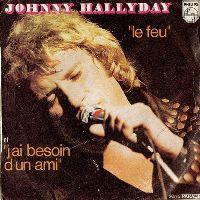 Cover Johnny Hallyday - Le feu