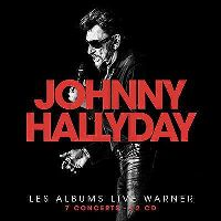 Cover Johnny Hallyday - Les albums Live Warner
