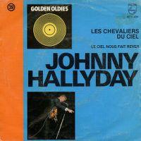 Cover Johnny Hallyday - Les chevaliers du ciel