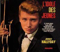 Cover Johnny Hallyday - L'idole des jeunes