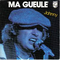 Cover Johnny Hallyday - Ma gueule