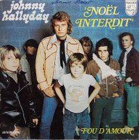 Cover Johnny Hallyday - Noël interdit