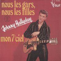 Cover Johnny Hallyday - Nous les gars, nous les filles