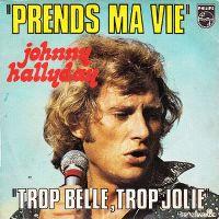 Cover Johnny Hallyday - Prends ma vie