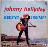 Cover Johnny Hallyday - Recentissime!