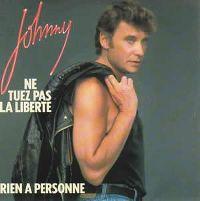 Cover Johnny Hallyday - Rien à personne