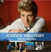 Cover Johnny Hallyday - Salut les copains! / L'idole des jeunes / Johnny, reviens! Les rocks les plus terribles / La génération perdue