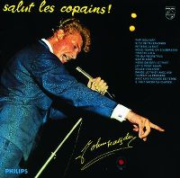 Cover Johnny Hallyday - Salut les copains!