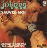 Cover Johnny Hallyday - Sauvez-moi