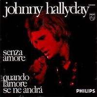 Cover Johnny Hallyday - Senza amore