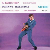 Cover Johnny Hallyday - Tu parles trop