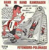 Cover Johnny Hoes en de Stadiongangers - Hand in hand kameraden