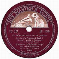 Cover Johnny Jordaan - Johnny's Potpourri deel 1