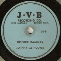 Cover Johnny Lee Hooker - Boogie Rambler