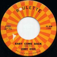 Cover Johnny Rivers - Baby, Come Back