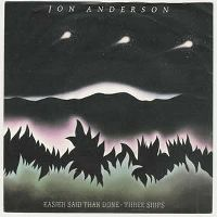 Cover Jon Anderson - Easier Said Than Done