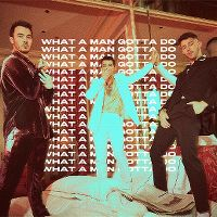 Cover Jonas Brothers - What A Man Gotta Do