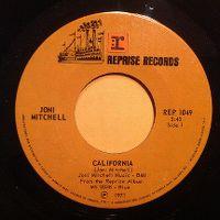 Cover Joni Mitchell - California