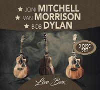 Cover Joni Mitchell / Van Morrison / Bob Dylan - Live Box