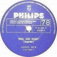 Cover Jorge Ben - Mas que nada