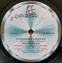 Cover José Feliciano - Everybody Loves Me