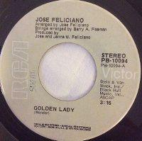 Cover José Feliciano - Golden Lady