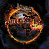 Cover Judas Priest - A Touch Of Evil - Live