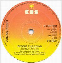 Cover Judas Priest - Before The Dawn