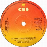 Cover Judas Priest - Better By You, Better Than Me