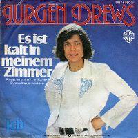Cover Jürgen Drews - Es ist kalt in meinem Zimmer