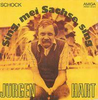 Cover Jürgen Hart - Sing, mei Sachse, sing