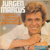 Cover Jürgen Marcus - Auf dem Karussell fahren alle gleich schnell