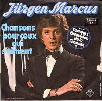 Cover Jürgen Marcus - Chansons pour ceux qui s'aiment