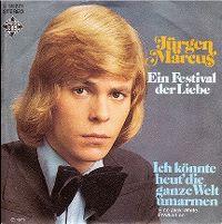 Cover Jürgen Marcus - Ein Festival der Liebe